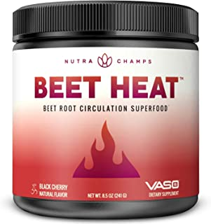 Beet Root Powder Circulation Superfood - Endurance, Energy & Recovery - Nitric Oxide Booster Supplement with Beetroot Juic...