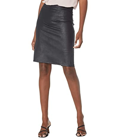 NYDJ Sculpt-Her Pull-On Ponte Pencil Skirt with Sheen