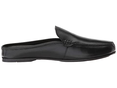 by Carlos Calfskin LeatherDark CARLOS Planeo Calfskin Slide Leather Santana Chocolate Black wpqqd75