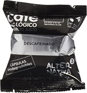 AlterNativa3 Café Descafeinado Bio - 75 cápsulas