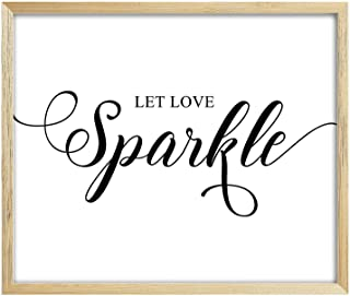 Best let love sparkle sign Reviews