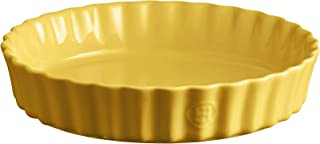 Emile Henry Pie Dish, 24 cm, Yellow