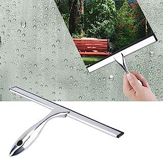 DEWIN Limpiaparabrisas - Limpiador de Vidrio de Ventana Durable de Acero Inoxidable, Cepillo de Espejo