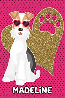 Foxy Life Madeline: College Ruled Composition Book Diary Lined Journal
