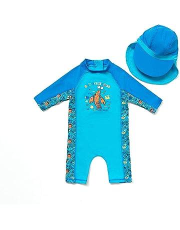 74//80 Baby UV-Shirt Blue Beach