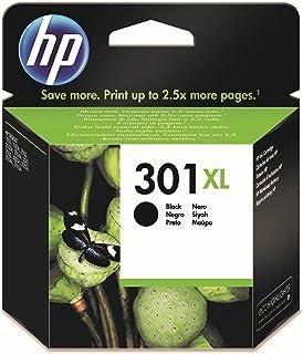 HP 301XL CH563EE, Negro, Cartucho de Tinta de Alta Capacidad Original, compatible con impresoras de inyección de tinta HP ...