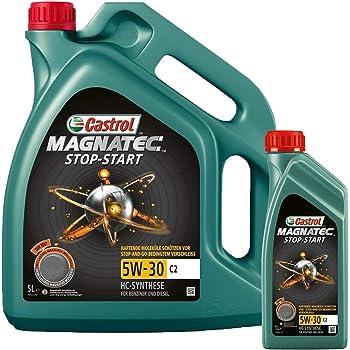 Motorenöl 5w 30 Magnatec Stop Start C2 6 L Von Castrol Set1599dc6l Öl Schmierung Motorenöl Auto