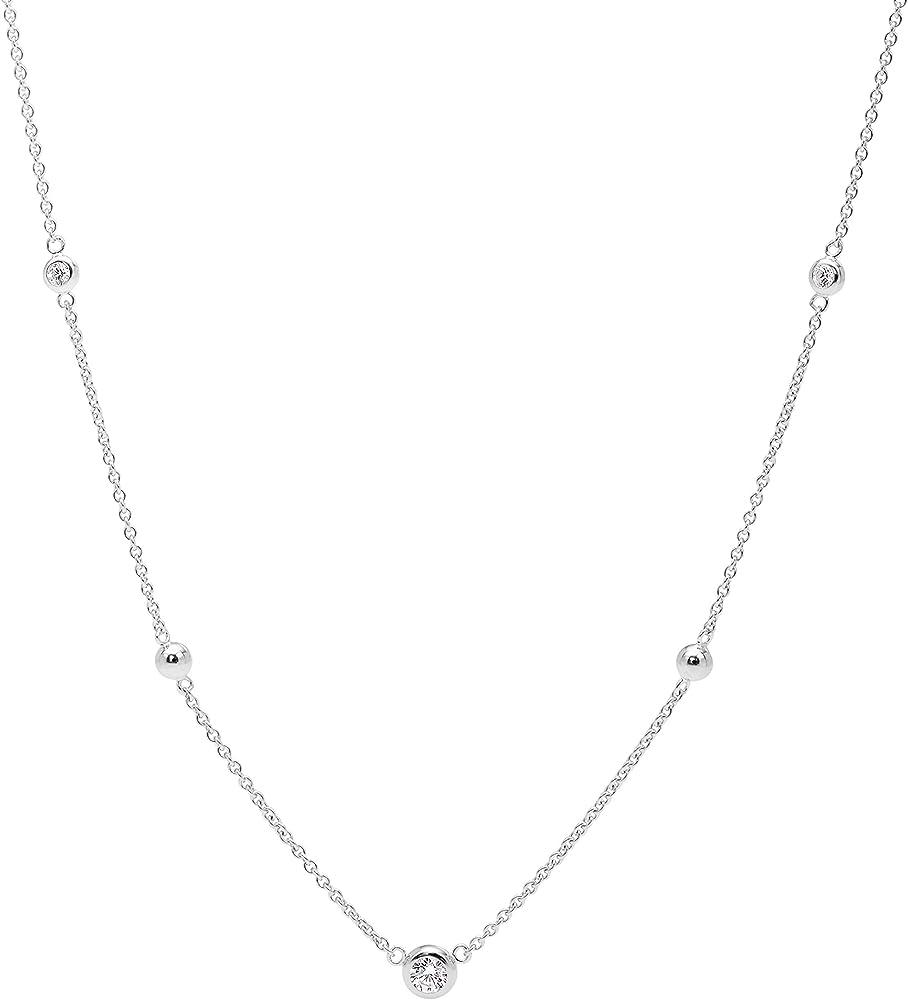 Fossil collana donna acciaio inossidabile JFS00453040