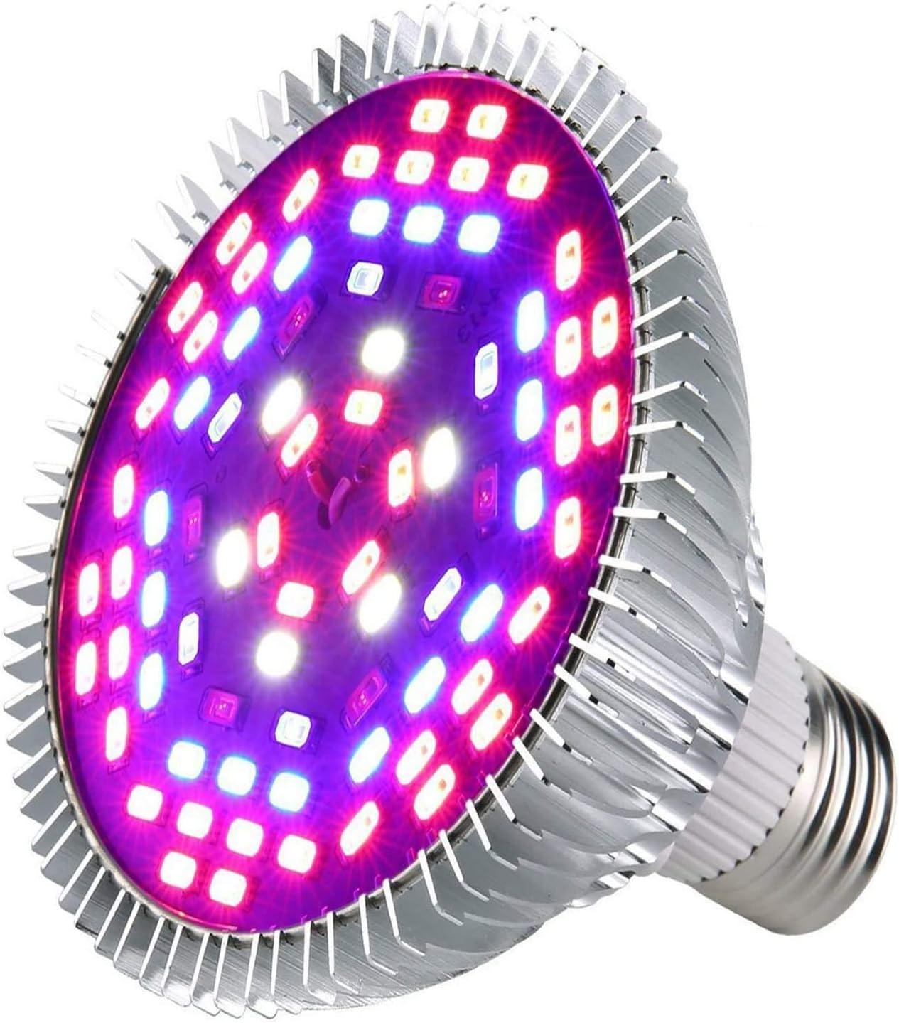 100W LED /él/èvent la pleine ampoule de spectre dampoule pour des plantes dint/érieur v/ég/étal Veg fleur Plantes Horticulture Ampoule pour Jardin