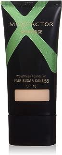 Max Factor Xperience Weightless Foundation SPF 10, No.55 Fair Sugar Cane, 1 Ounce