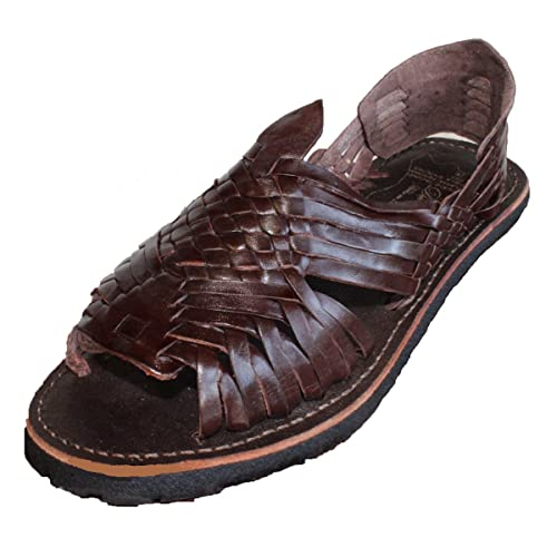 329ea42b46a8 MEXICAN SANDALS-Men s Genuine Leather Quality Handmade Sandals Huarache