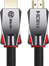 4K HDR HDMI Cable 12 Feet, HDMI 2.0 18Gbps, Supports 4K 120hz, 4K 60hz(4 4 4, Dolby Vision, HDCP 2.2) 1440p 144hz and E-ARC, High Speed Ultra HD Cord