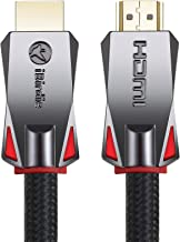 4K HDR HDMI Cable 15 Feet, HDMI 2.0 18Gbps, Supports 4K 60hz(Dolby Vision, HDR10, HDCP 2.2) 1440P 144Hz and ARC, High Speed Ultra HD Cord, 24AWG