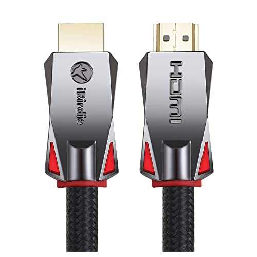 4K HDR HDMI Cable 5 Feet, HDMI 2.0 18Gbps, Supports 4K 120Hz, 4K 60Hz(4:4:4, HDR10, ARC, HDCP2.2) 1440p 144Hz, High Speed Ultra HD Cord, 26AWG