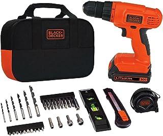 BLACK + DECKER 20V MAX ابزار مته و ابزار خانگی، 34 قطعه (BDCD120VA)