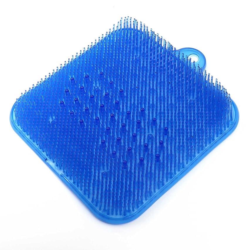 見分ける任命マニフェストDigHealth 足洗いマット ブルー