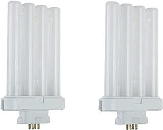 Dysmio Lighting FML27 4 Pin Quad Tube (65000K, 2 Pack)