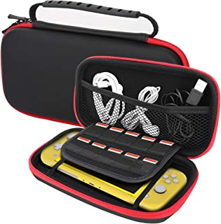 MoKo Carrying Case Compatible with Nintendo Switch Lite, Travel Case Hard Shell EVA Tough Storage Bag Holder for Nintendo ...
