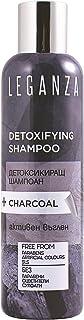 Leganza Champú Detox con Carbón Activado Limpieza Profunda Sin Sulfatos Sin Parabenos
