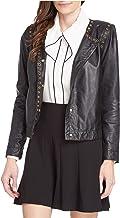 Donna Karan Leather Biker Jacket Woman
