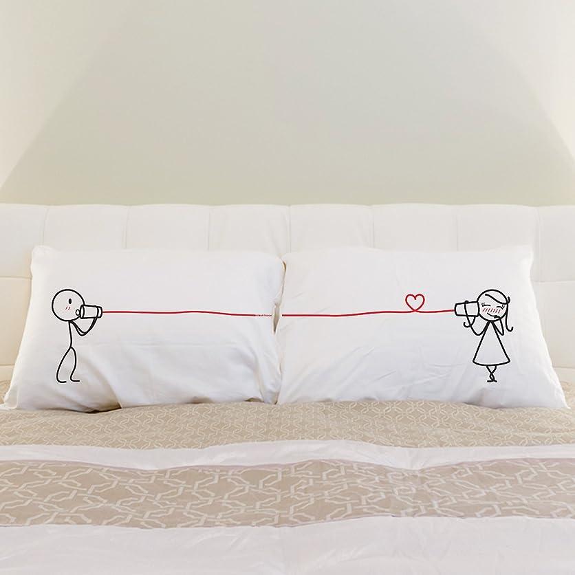 刈るニコチン助けてCanphone Couple Pillowcase Set (紺) [並行輸入品]