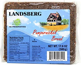 German Pumpernickel Bread by Landsberg (17.6 ounce)