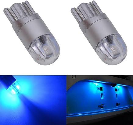 4-Pack KaTur T10 168 175 194 2825 W5W LED Light Bulbs CanBus Erro Free 3014 30SMD Lens 300Lumens Super Bright DC 12V Interior Map Dome Courtesy License Plate Side Marker Lights Xenon White 2.7W