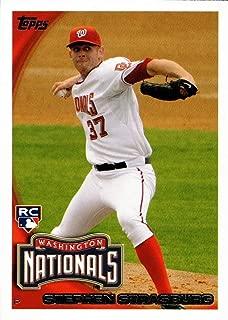 2010 Topps Update Baseball #661 Stephen Strasburg Rookie Card