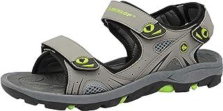 Mens DUNLOP Sports Walking Touch Close Strap Summer Sandals Size UK 6 - 12