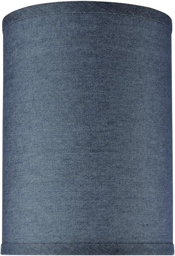 Aspen Creative 31112 Transitional Fort Worth Mall Sales for sale Cylinder Drum Hardback Shap