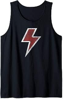 Lightning Bolt Retro Vintage Rock & Roll Gift T-Shirt Tank Top