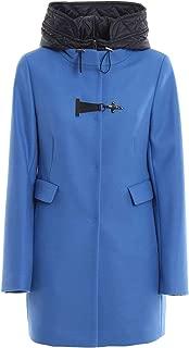 Fay Luxury Fashion Womens NAW59393430RCPU817 Light Blue Outerwear Jacket | Fall Winter 19