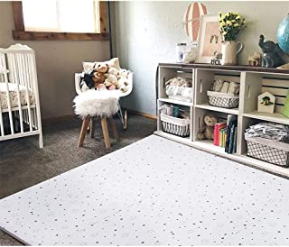 FORSTART Baby Play Mat, Non-Toxic Foam Play Mat for Infants, Extra Large (40 x 60 in) Thick (0.8 in) Playmats Floor Puzzle Tiles Soft Crawling Mat for Toddlers, Stylish & Pet-Friendly