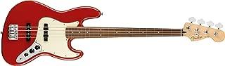 Fender Player Jazz Electric Bass Guitar - Pau Ferro Fingerboard - Sonic Red