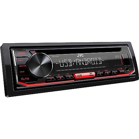 JVC KD-T402 - Autoradio CD con RDS (sintonizzatore ad alte