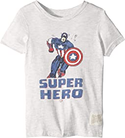 Vintage Tri-Blend Super Hero Tee (Little Kids/Big Kids)
