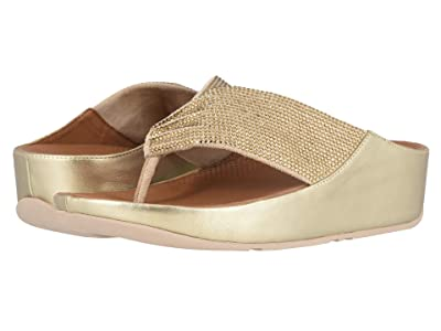 FitFlop Twiss Crystal (Platino) Women