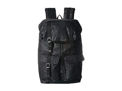 Herschel Supply Co. Buckingham (Black/Tonal Camo) Backpack Bags