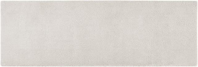MADISON PARK SIGNATURE Bath Rug, MPS72-382, Polyester, Taupe, 24x72