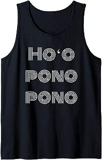 Ho'oponopono Healing Prayer Hawaiian Forgiveness Mantra Gift Tank Top