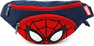 Spider Small HipSack Waist Pack Fanny Phone Wallet for Kids