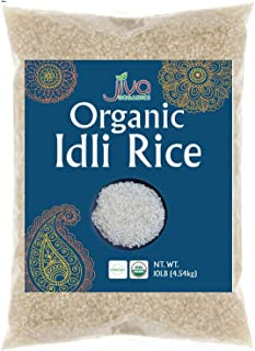 Organic Idli Rice 10LB USDA Certified Idli Dosa by Jiva Organics