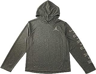 Jordan Air Boys Youth Dri-Fit Long Sleeve Hoodie Shirt Size M, L, XL