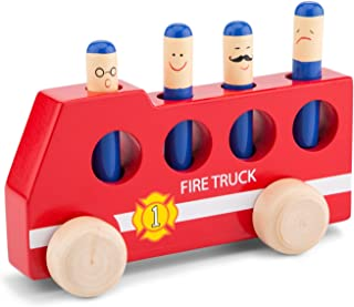 New Classic Toys - Träleksaker lekfordon, balansspel