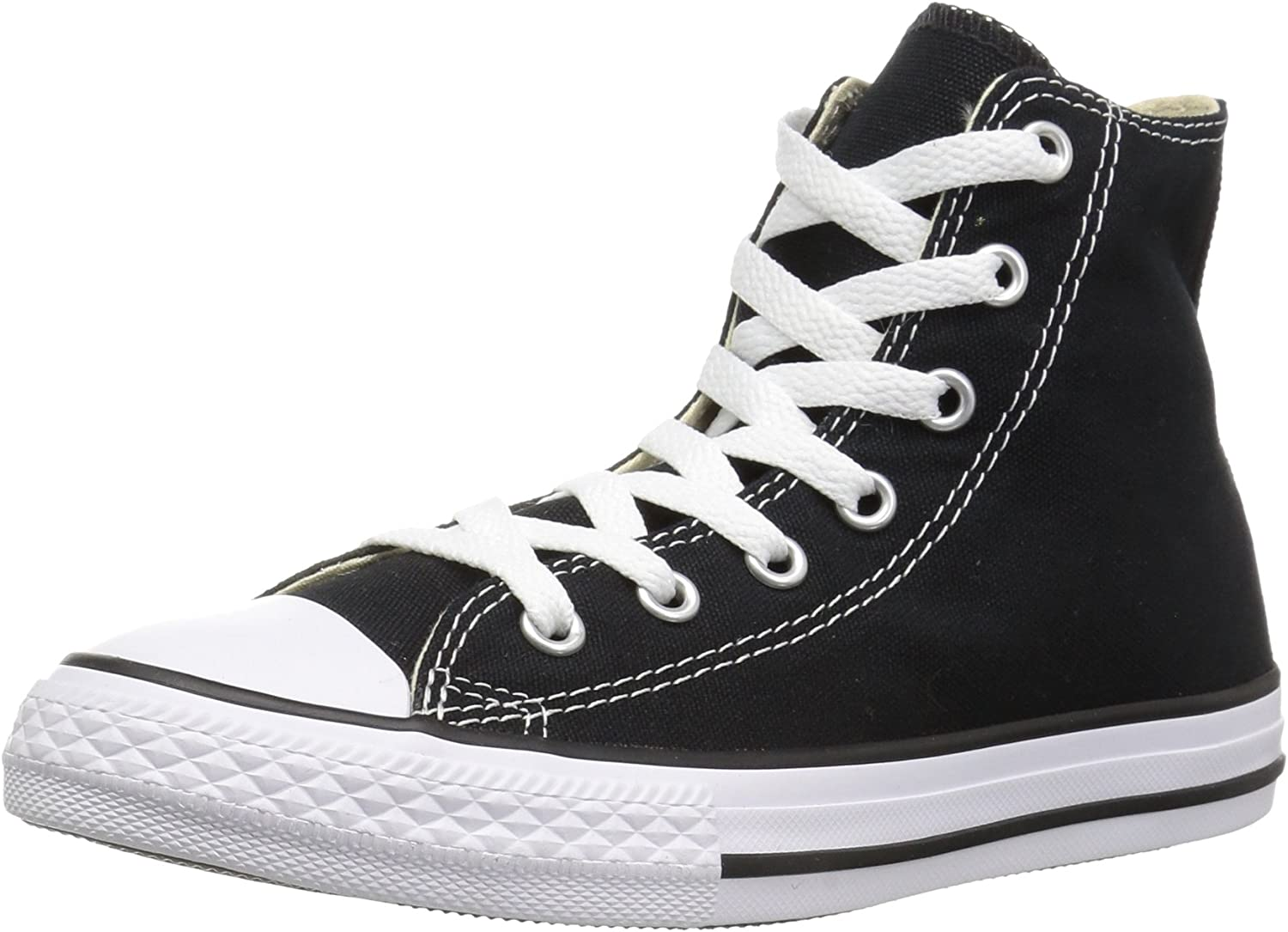 Converse Unisex Chuck Taylor All Star Hi Top Sneaker (12 B(M) US Women   10 D(M) US Men, Black)