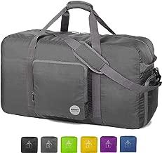 "WANDF 24"" ~ 36"" Foldable Duffle Bag 60L ~ 120L for Travel Gym Sports.."