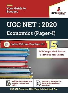 UGC NET Economics: 2020 - 15 Full-length Mock Test (Paper I)
