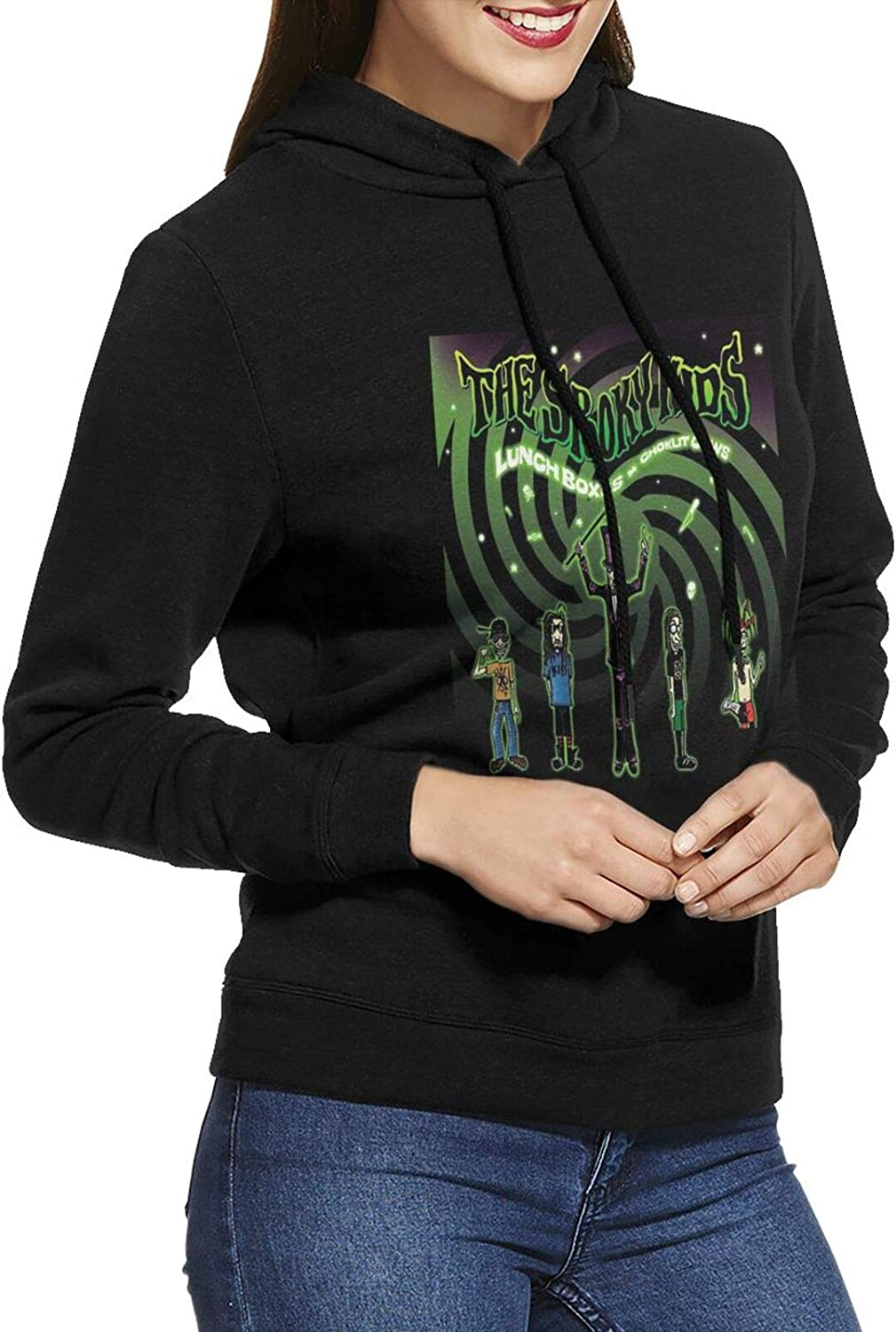 Marilyn Manson Los Angeles Mall The Spooky Hoodie Sweatshirts Over item handling Casual Cotto Female