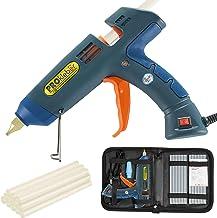 PROkleber Hot Melt Glue Gun Kit Full Size 100 Watt with Carry Bag and 12 pcs Glue Sticks, for DIY, Arts & Crafts Projects,...