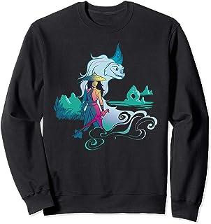 Disney Raya and the Last Dragon Watercolor Sweatshirt